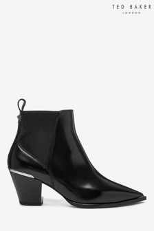 Ted Baker Black Western Boots