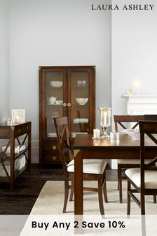 Balmoral Dark Chestnut Extending Dining Table by Laura Ashley