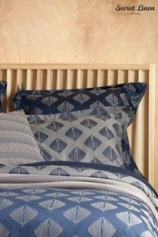 Secret Linen Store Pinecones Cotton Pillowcase