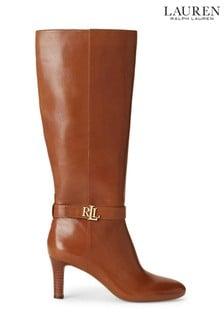 Lauren Ralph Lauren Tan Ardington Boots