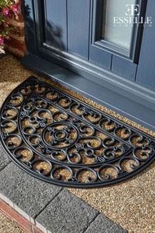 Mud Stopper Half Moon Lattice Doormat