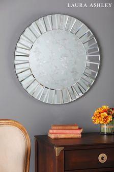 Laura Ashley Capri Small Round Mirror