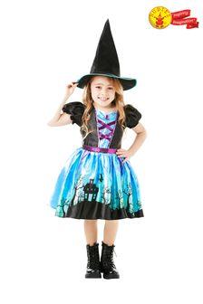 Rubies Halloween Moonlight Witch Fancy Dress Costume