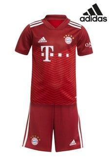 adidas Bayern Munich 21/22 Home Mini Kit