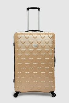 Hearts Large Suitcase
