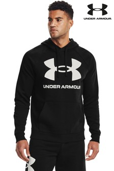 Under Armour Rival Large Logo Hoodie