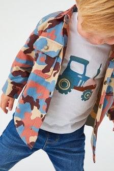 Shirt And T-Shirt Set (3mths-7yrs)