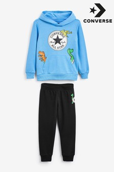 Converse Dino Pullover Hoodie And Joggers Set