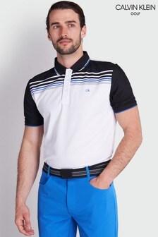 Calvin Klein Golf White Nelson Polo