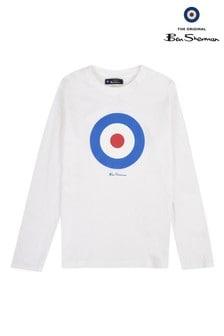 Ben Sherman Target Long Sleeve T-Shirt