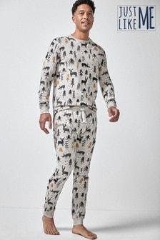Mens Matching Family Woodland Pyjamas