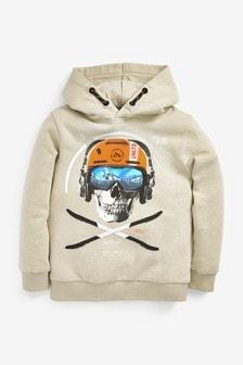 Skull Graphic Hoodie (3-16yrs)