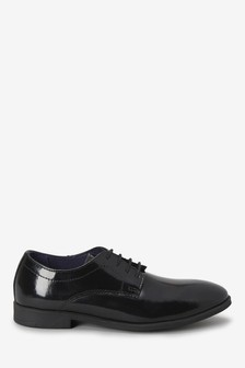 Patent Leather Lace-Up Shoes (Older)