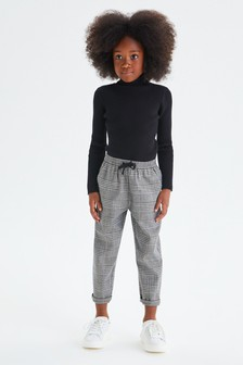 Check Jogger Trousers (3-16yrs)