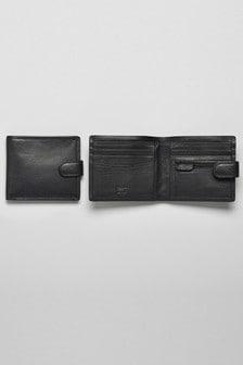 Leather Popper Wallet