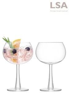 Set of 2 LSA International Gin Balloon Glasses