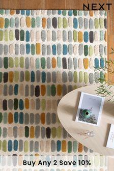 Pastel Multicoloured Sketch Rug