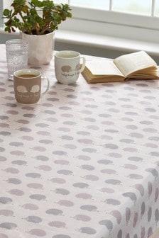 Wipe Clean Hedgehog Tablecloth