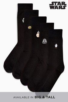 Star Wars™ Embroidered Socks Five Pack