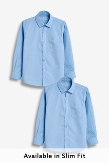 2 Pack Long Sleeve Shirts (3-16yrs)