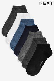 Mixed Trainer Socks Seven Pack (Older)