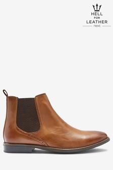Premium Leather Chelsea Boots