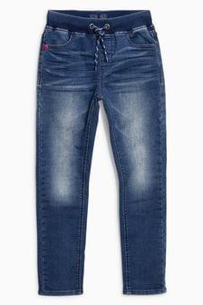 Jersey Look Denim Skinny Pull-On Jeans (3-16yrs)