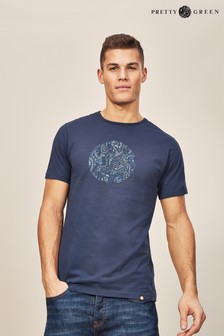 Pretty Green Thornley Short Sleeve Crew T Shirt