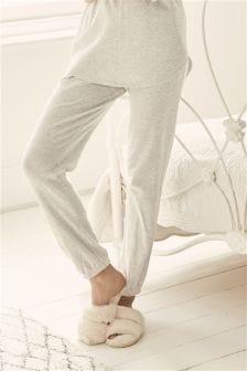 Soft Textured Cotton Rich Joggers