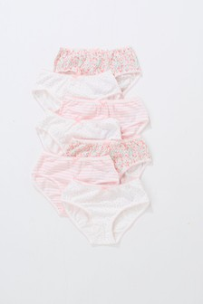 Floral Briefs Seven Pack (1.5-16yrs)