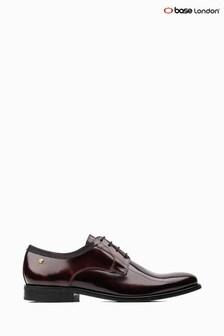 Base London® Red Nero Hi Shine Lace-Up Shoes
