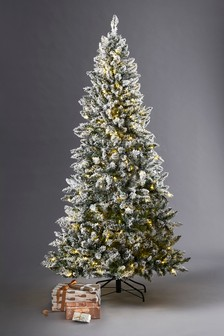 300 LED Vermont Snowy 7ft Christmas Tree