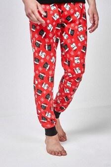 Cuffed Pyjama Bottoms