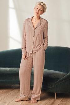 Emma Willis Button Through Pyjama Set