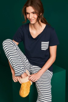 Cotton Pocket Pyjamas