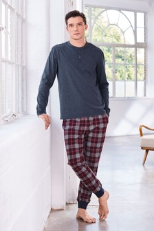 Cosy Check Pyjama Set