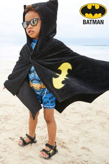 Batman® Towelling Poncho (9mths-10yrs)
