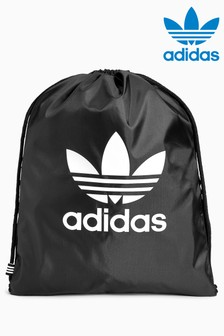 Adidas Originals Black Trefoil Gymsack