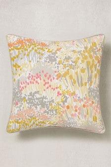 Botanical Meadow Floral Cushion