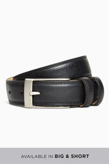 Signature Italian Leather Double Loop Belt