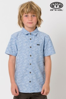 Animal Blue Stormy Short Sleeve Shirt