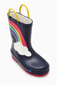 Rainbow Wellies (Younger)