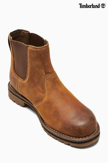 Timberland® Tan Oakwood Larchmont Chelsea Boot