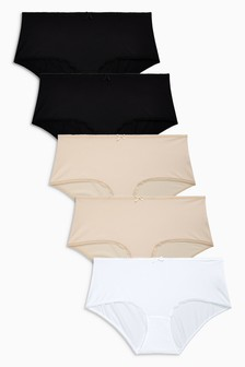 Microfibre Knickers Five Pack