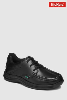 Kickers® Black Reason Lace-Up Shoe