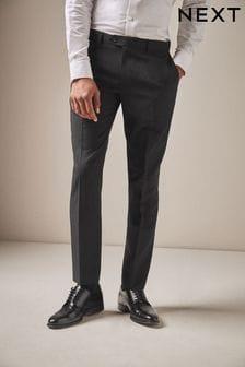 Machine Washable Plain Front Trousers