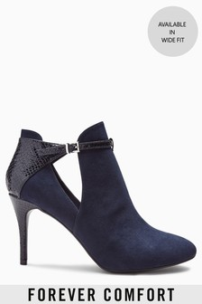 Forever Comfort Open Side Shoe Boots