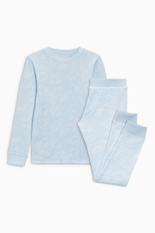 Thermal Cloud Top And Trousers Set (2-16yrs)