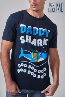 Mens Matching Family Christmas License T-Shirt