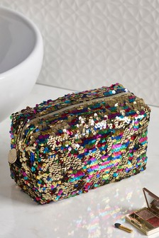 Sequin Make Up Bag
